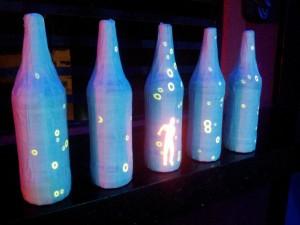 Mapeamento de garrafas